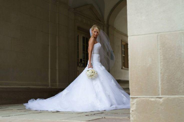 Blue Wedding Dresses Enzoani : Blue by enzoani dabra miami university wedding dress
