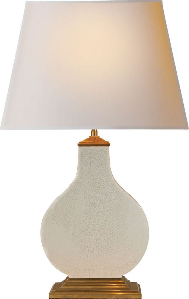 Cloris table lamp from the alexa hampton collection