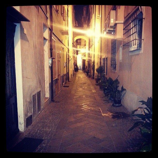#PietraLigure by night pic @Sherrie Holmes #Liguria #Visitriviera