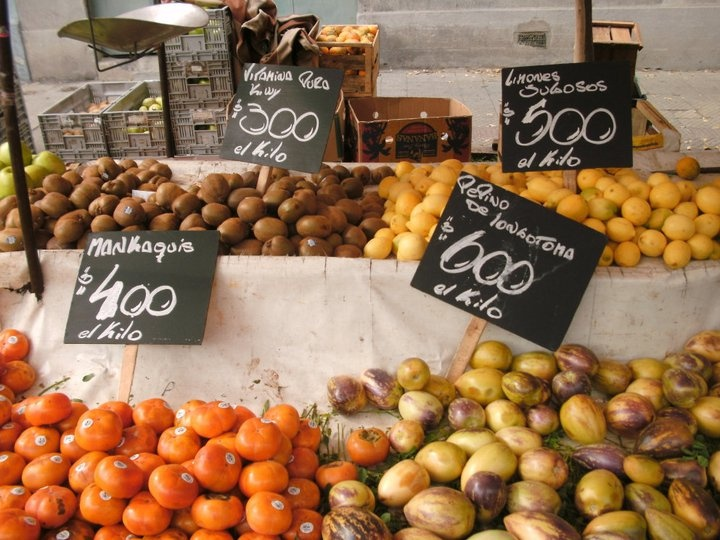 """la feria"" the fresh fruit and veggie street market"