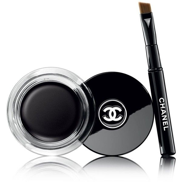 CHANEL Longwear Intense Cream Eyeliner ($33) ❤ liked on Polyvore featuring beauty products, makeup, eye makeup, eyeliner, chanel eye liner, long wearing eyeliner, chanel, chanel eye makeup and cream eye liner