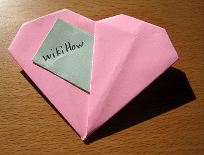 how to make an origami heart wikihow