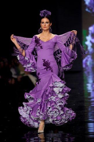 Traje de Flamenca - Pilar-Vera - Simof-2009
