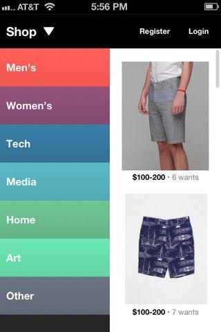 supply app - nice flat colours