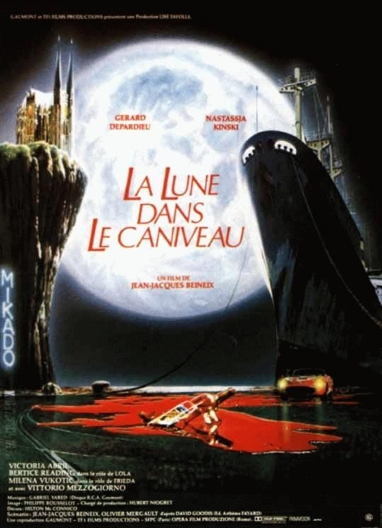 The Moon in the Gutter (French: La Lune dans le caniveau) is a 1983 French drama film directed by Jean-Jacques Beineix.   It featured two very big stars, Gérard Depardieu and Nastassja Kinski. Two women: Loretta (Nastassja Kinski), a wealthy amateur photographer who prowls the docks in her early '60s Ferrari 250 GT California Spyder looking for handsome men, and Bella (Victoria Abril), a poor but beautiful woman who is probably a prostitute, share affections for a dock worker named Gerard…