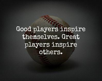 25+ best Inspirational baseball quotes on Pinterest | Baseball ...