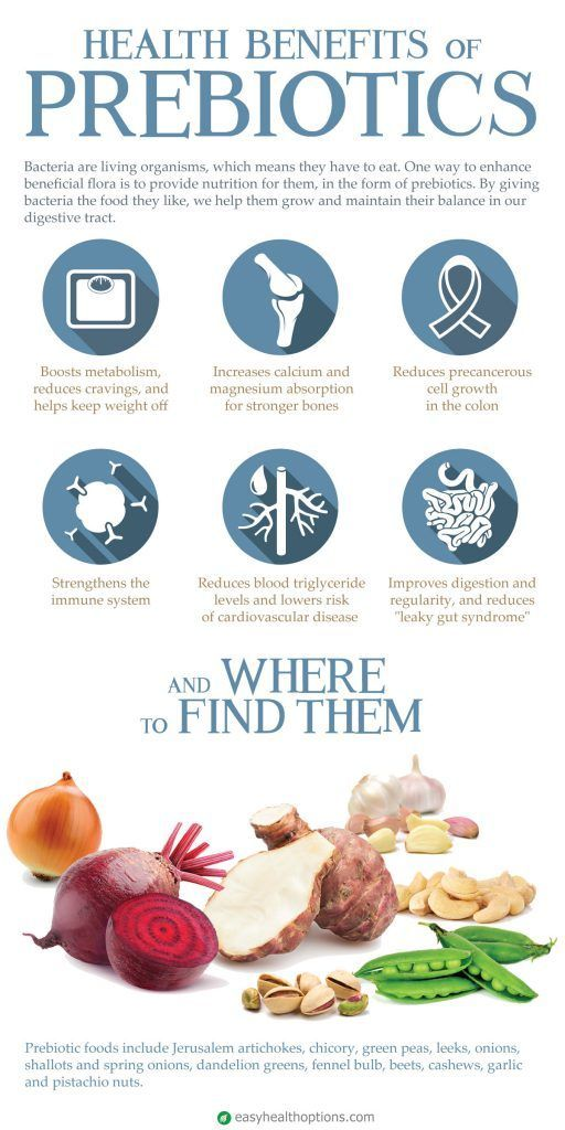 Health benefits of prebiotics and where to find them [infographic]