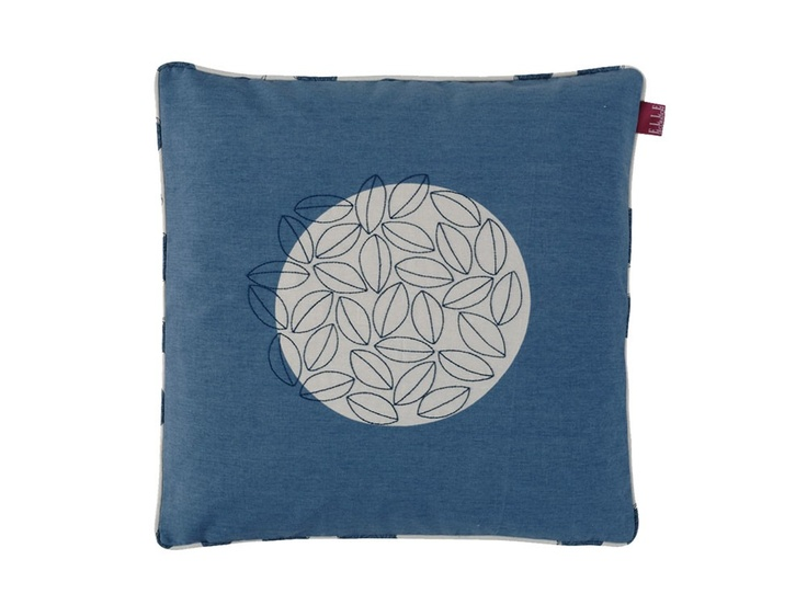 Cushion Tree Blue pillow by LINUM