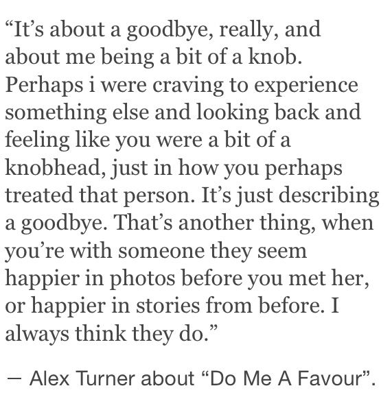 I think this too. Because usually as time goes on, you don't get happier. Life gets harder. And if you've been through many relationships... The next usually never feels as good as the last