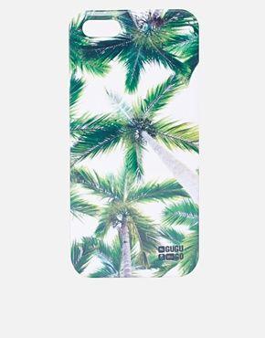 Agrandir Mr Gugu & Miss Go - Coque pour iPhone 5 à motif palmiers
