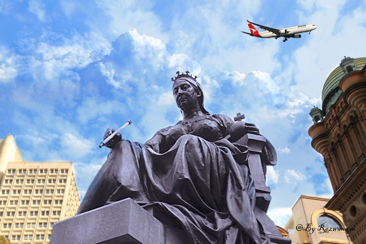 https://flic.kr/p/sb6Z2K   Queen Victoria statue outside qv building.Sydney
