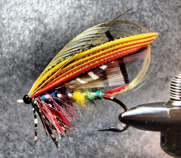 Mountains, Rivers, & Trout: Atlantic Salmon Flies - New Project