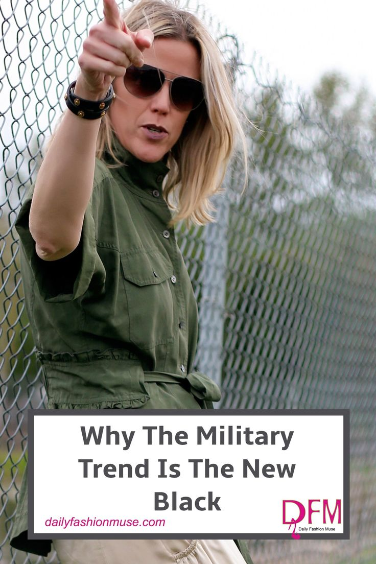 The military trend shows itself time and again. Like the little black dress, it has become a mainstay in our closets. What gives it the staying power? Daily Fashion Muse