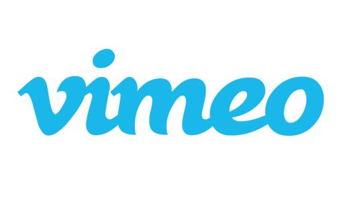 love the font and flexibility of the logo. Vimeo uses the V alone, as well as a bunch of variations in color palette
