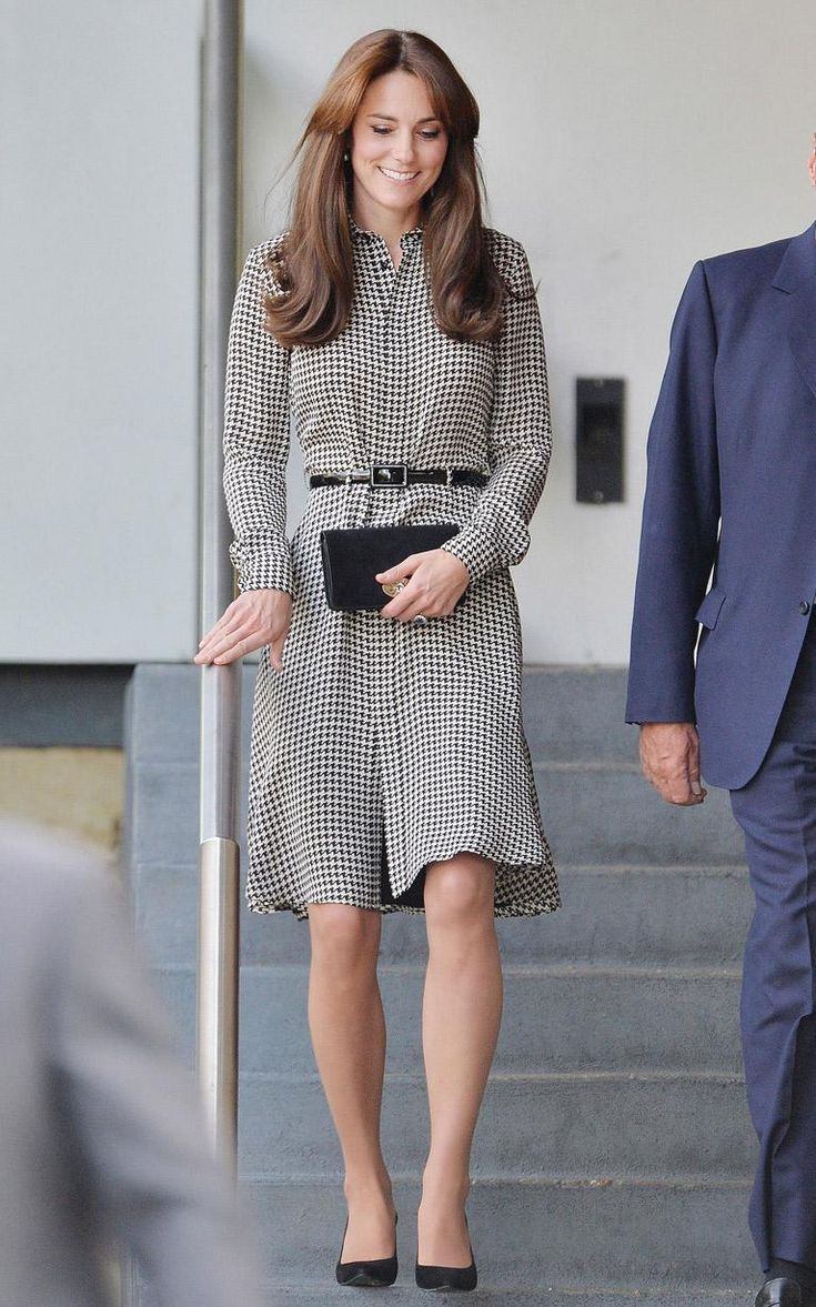 Duchess of Cambridge silk Ralph Lauren shirt dress