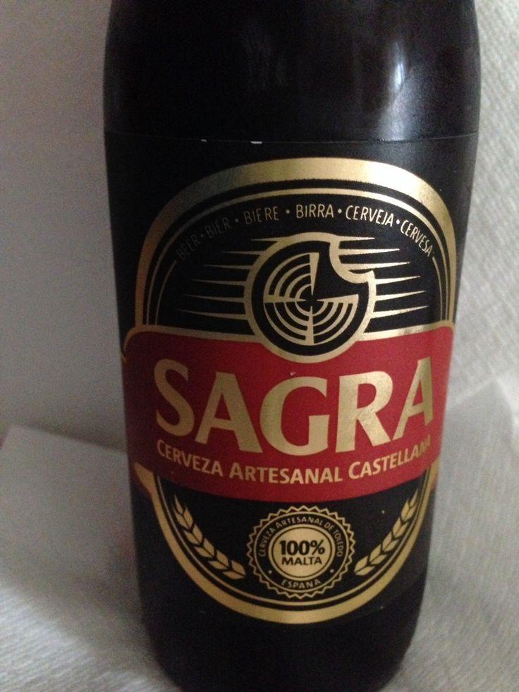 1a. Fotografía de Cerveza. Elaborada en Castilla la Mancha, en Numancia de la Sagra, Toledo. Cerveza artesanal Castellana.