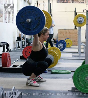 How the squat stance and position can affect the performance of the snatch and clean in Olympic weightlifting