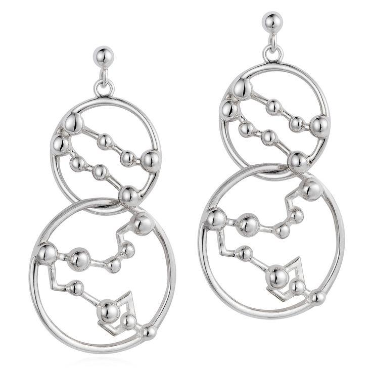 Star Crossed Lovers Earrings from Joy Everley Fine Jewellers, London