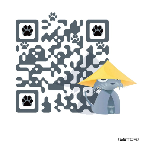 3378 best qr codes i like images on pinterest qr codes coding as part of their communication plan japan neko a japanese language search engine has commisioned set to create a designer qr code image below fandeluxe Gallery