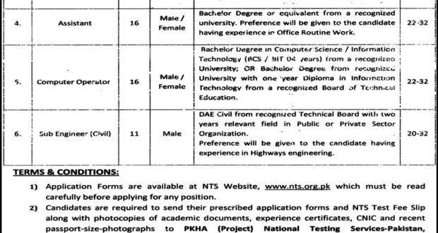 Pakistan Software Export Board (PSEB) Professional Staff esting - civil service exam application form