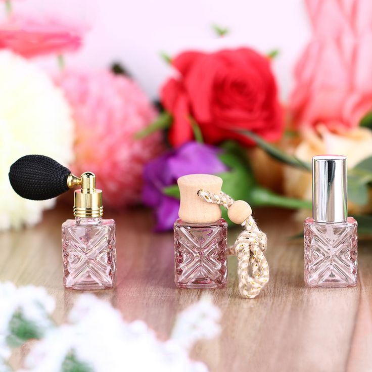 3 PC/lot 12 ML Rosa Mujeres Cuadrados Botella de Spray de Perfume Del Coche Colgando Ambientador Atomizador Recargable Bola Vacía Envases Cosméticos en Botellas rellenables de Belleza y Salud en AliExpress.com | Alibaba Group