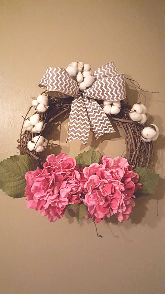 Hey, I found this really awesome Etsy listing at https://www.etsy.com/listing/519592914/summer-wreath-pink-wreath-hydrangea