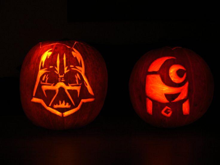 DIY Pumpkin Carving + stencils, Kürbis schnitzen 2.0, Tutorial, greenorangeblog