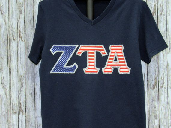 Sorority Letter Shirt Navy Shirt in VARIOUS STYLES and SIZES