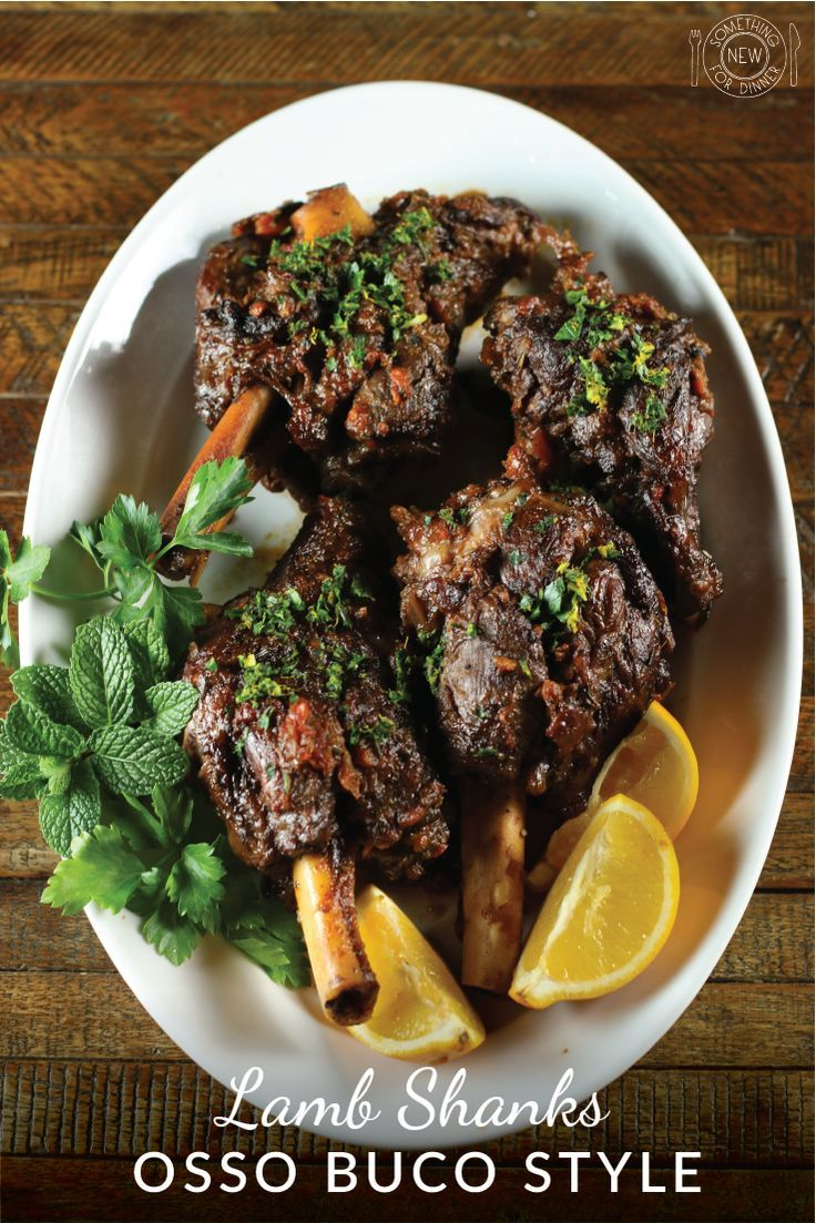 ... lamb shank recipe, Braised lamb shanks and Recipe for lamb shanks