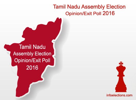 Tamil Nadu Opinion Exit poll 2016 Election Survey Result Live Voting Who will win in Tamil Nadu ABP News-Nielsen India TV polls Party Constituency Wise