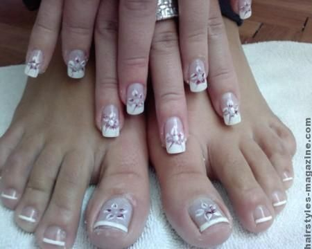 The 25 best flower toe nails ideas on pinterest flower toe bridal flower toes nails versatility of toe nail art designs for brides of the 21st century prinsesfo Images