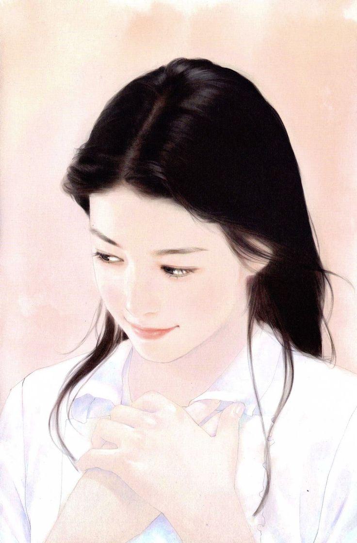 Chen Shu Fen(陳淑芬)...I really like her dark hair and flawless skin