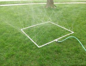 Como hacer un sistema de riego por aspersion