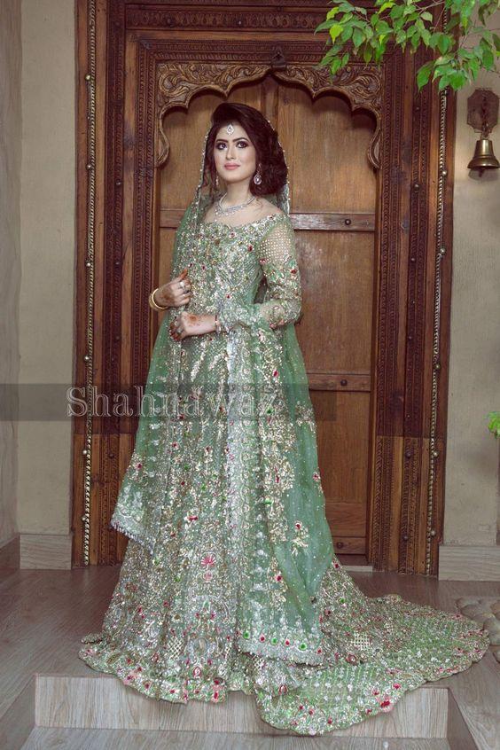 100 Pakistani Bridal Dresses 2018 For Wedding Parties 8: 100+ Pakistani Bridal Dresses 2018 For Wedding Parties (37