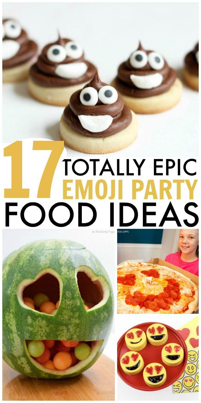 17 Emoji Food Ideas for an Emoji Theme Party