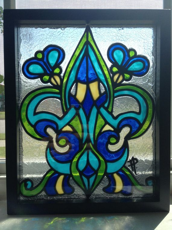 17 best images about stained glass on pinterest peacocks stains and fleur de lis - Amazing stained glass fireplace screen designs with intriguing patterns ...
