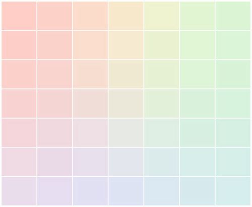 Beautiful Pastel Gradient Color Palette Color Palettes