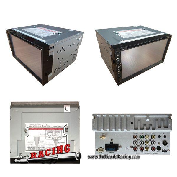 104,35€ - ENVÍO SIEMPRE GRATUITO - Monitor Ordenador de a Bordo Pantalla XC-10 de 7 Pulgadas Táctil TFT MP3 MP4 USB SD MMC - TUTIENDARACING
