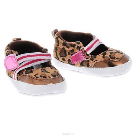 Luvable Friends Пинетки  — 480р. ------------------------------- Оригинальные детские пинетки для девочки Luvable Friends Фанни, стилизованные под туфельки - это легкая и удобная обувь для малышей. Удобная эластичная застежка на липучке, надежно фиксирующая пинетки на ножке малышки, мягкие, не сдавливающие ножку материалы делают модель практичной и популярной. Стопа оформлена прорезиненным рельефным рисунком, благодаря которому ребенок не будет скользить. Такие пинетки - отличное решение для…