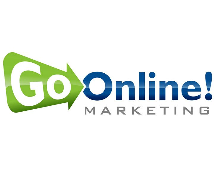 Professional Logo Design for Go Online Marketing, Inc.