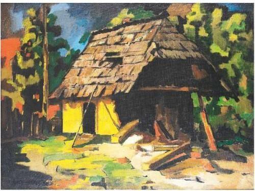 Nagy, Oszkár (Pécska, 1883 - Nagybánya, 1965 ) - Farm