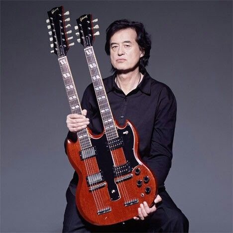 Jimmy Page. Legendry Double Neck SG
