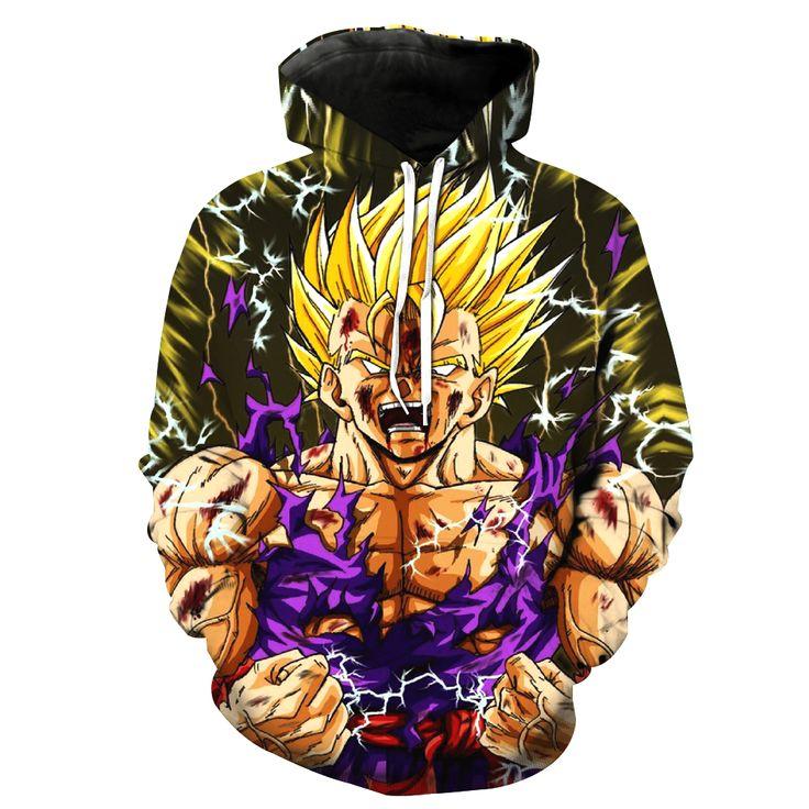 Dragon Ball Z Jacket Goku - Free Shipping Worldwide