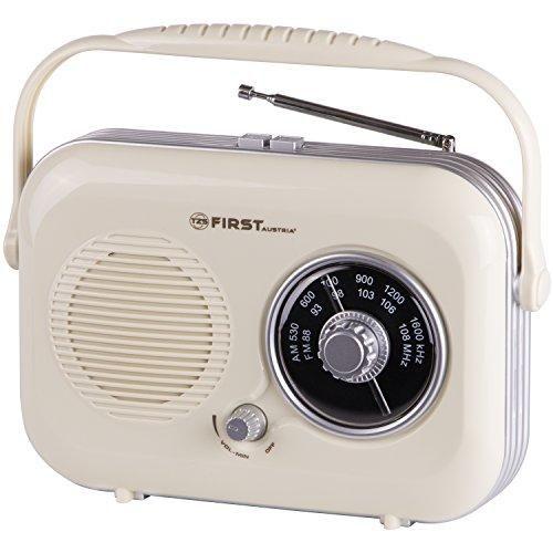 Oferta: 24.95€ Dto: -50%. Comprar Ofertas de Radio Portátil Retro color Beige, conexión para el móvil ( FM/AM ) barato. ¡Mira las ofertas!