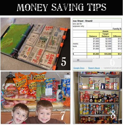 Tutorials for tons of ways to save money on groceries and organize your ways to save money!  Tons of stuff.