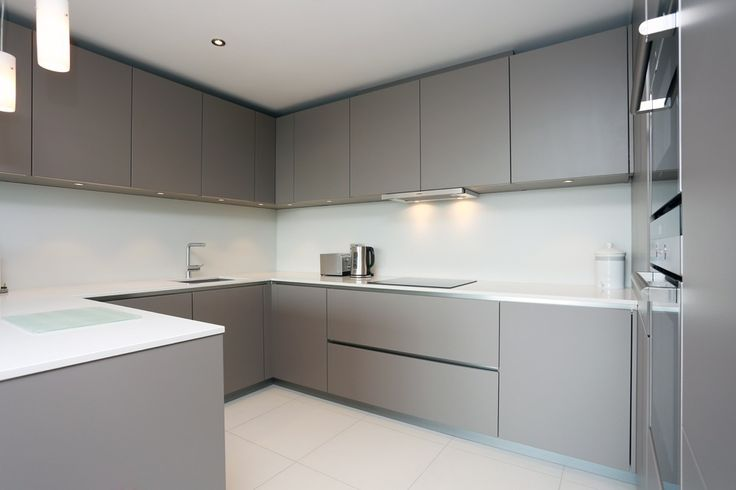 Grey Satin Lacquer Kitchen Finish Kitchen Interior Home