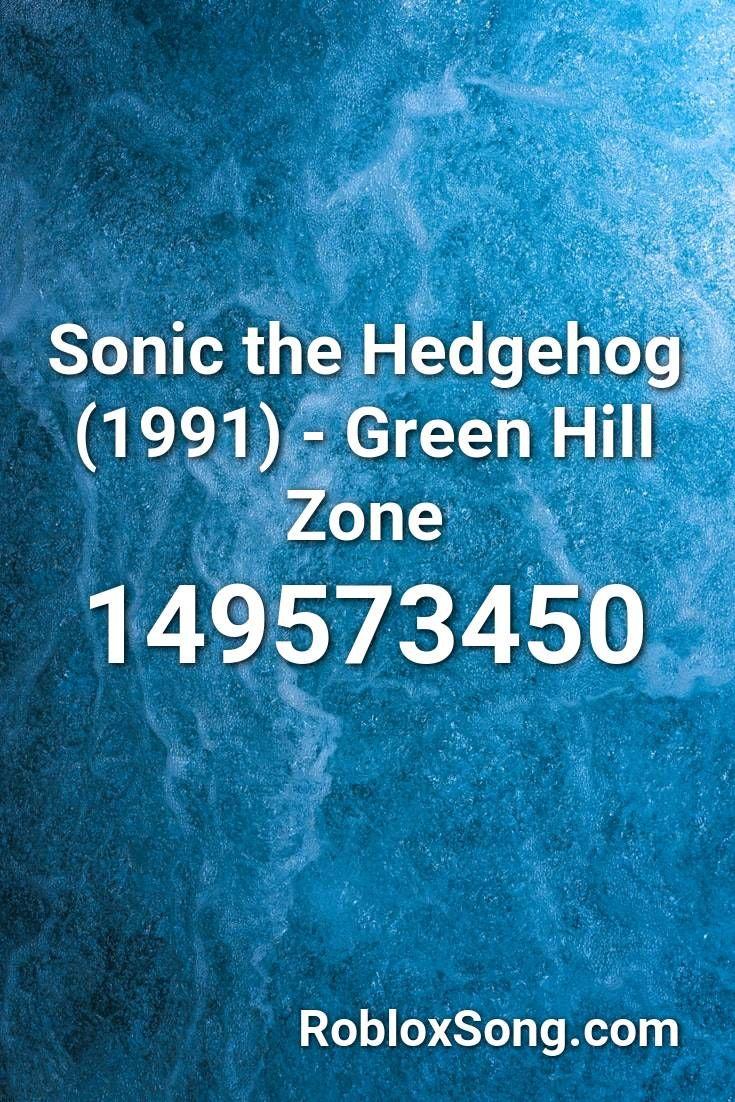Sonic The Hedgehog 1991 Green Hill Zone Roblox Id Roblox