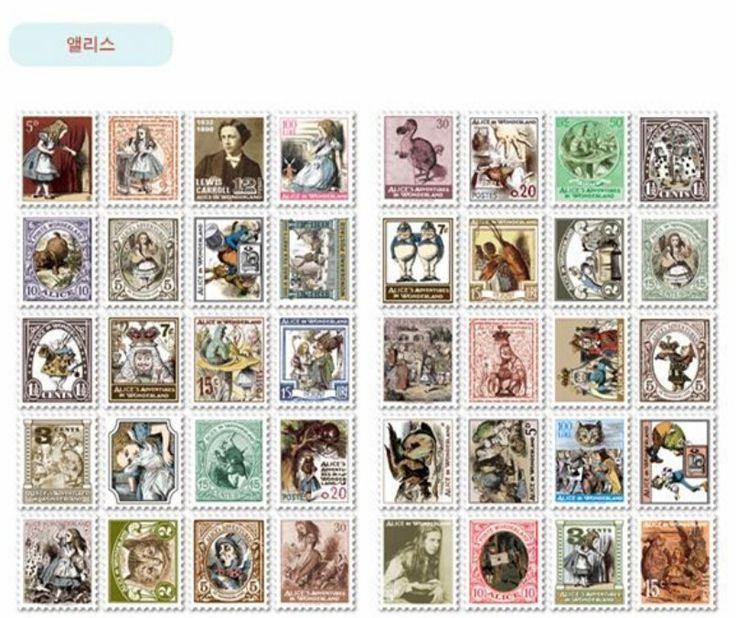 5 bolsas/lote ( 400 unids ) bricolaje Vintage Retro etiqueta de papel londres italia Doris Alice príncipe sello etiqueta engomada del diario el envío gratuito 410 en Blocs de Notas de Escuela y Oficina en AliExpress.com | Alibaba Group