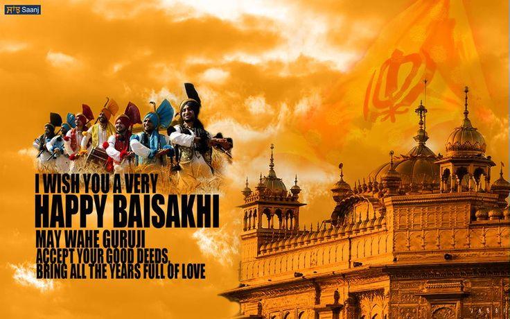 Wishing you all a Happy Baisakhi