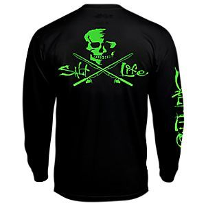Salt Life Neon Skull and Poles Pocket Long-Sleeve T-Shirt for Men   Bass Pro Shops: The Best Hunting, Fishing, Camping & Outdoor Gear